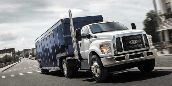 Ford F650, F750 Commercial Truck