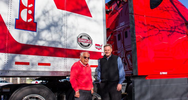 Wabash National Hits Milestone Duraplate Van