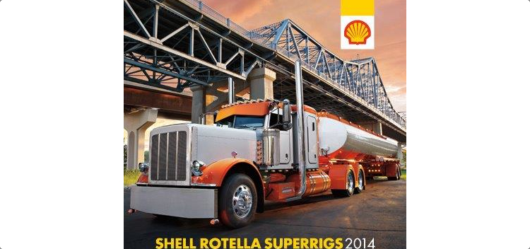 Shell Rotella calendar
