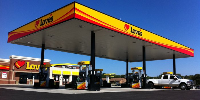 Love's Travel Stops completes first Fast-Fill CNG station