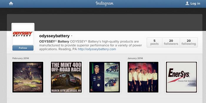 Odyssey Batter on Social Media