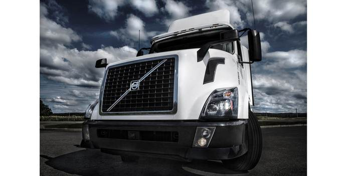 Volvo Trucks LED light