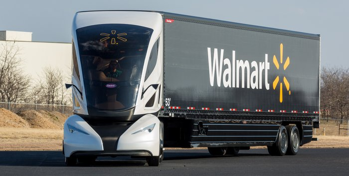 Great Dane Walmart Truck Future