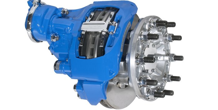 Kenworth Adds Bendix Front and Rear Air Disc Brakes