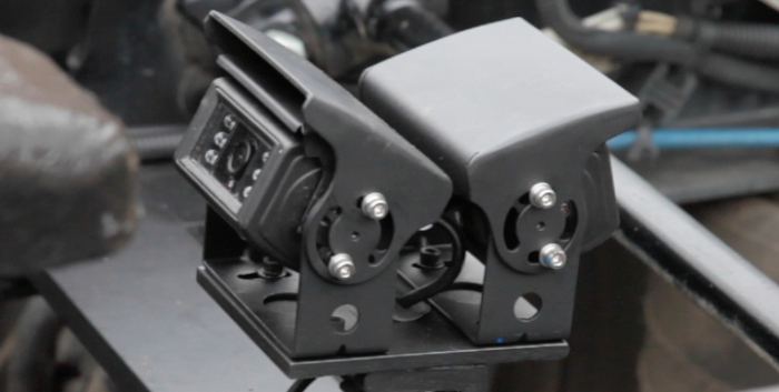 The Dual Assist Camera System from Fontaine Fifth Wheel will assist in coupling trailers