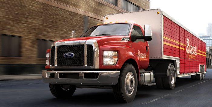 Ford sets a new standard in medium duty pickups