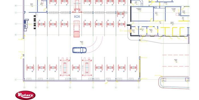 Rotary Lift assistPRO helps maximize shop efficiency