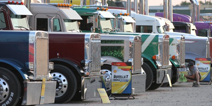 Shell Rotella SuperRigs Truck Parade will take place at Charlotte Motor Speedway