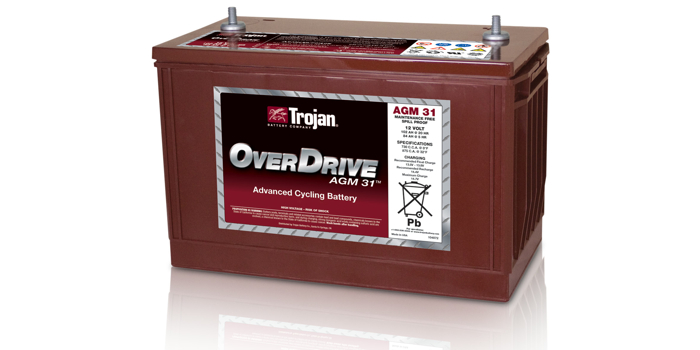 Trojan Battery Powering Options
