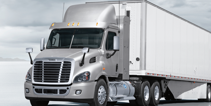 Freightliner CNG Truck