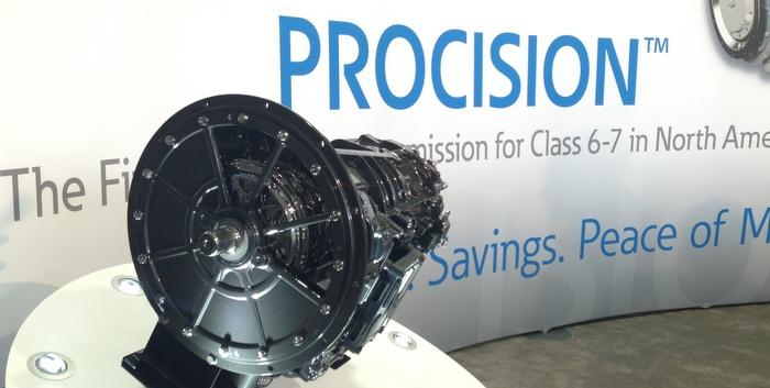 Eaton introduces Procision dual clutch transmission