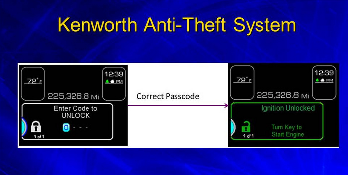 Kenworth-Anti-Theft-System