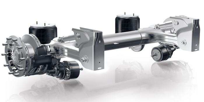 Jost Daimler Trailer Axle System
