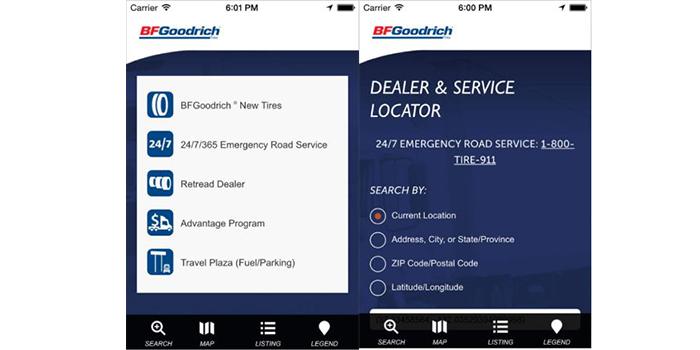 BFGoodrich-Dealer-Locator-App
