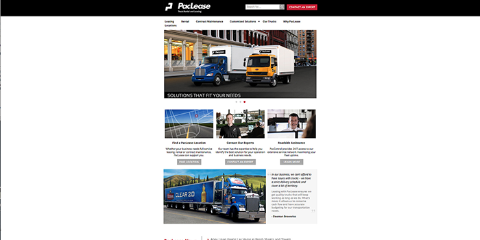 PacLease-Website
