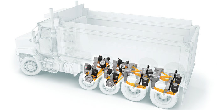 SAF Holland Lift Axle