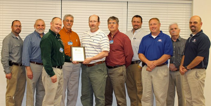 Utility Paragould Safety Award