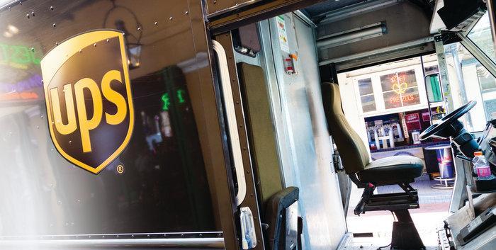 UPS Alternative fuel vehicles deployed