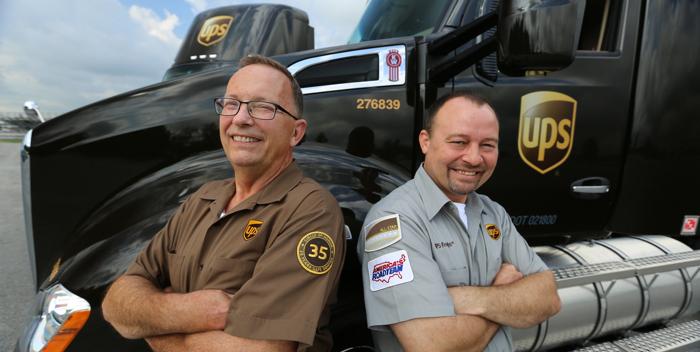 UPS drivers
