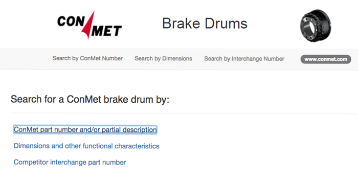 ConMet Online Brake Drum Tool