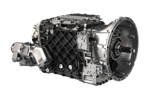 Mack's mDrive transmission.