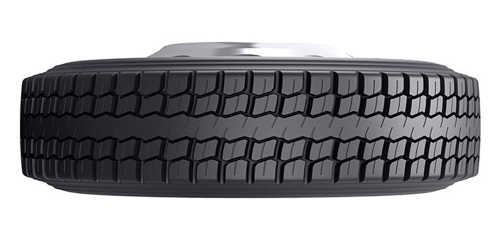 Bridgestone Bandag retread drive tire