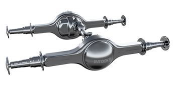 The PACCAR axle.