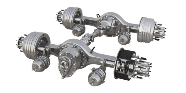 Configured for fuel economy: Mating axles, ratios & loads