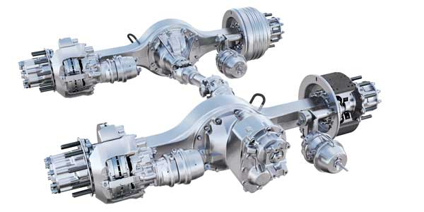 How the latest axle technology integrates into powertrains