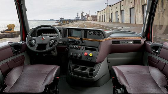 International-cab