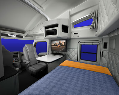 Creature comforts: Driver needs are the focus of the latest
