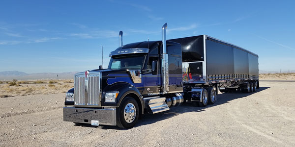 Kenworth W990 heavy-duty truck