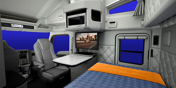 Kenworth announces new cab interior color schemes