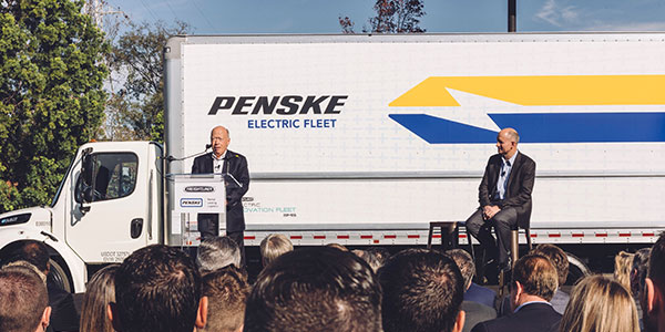 brian-hard-penske-truck-leasing-CEO-DTNA-electric-truck
