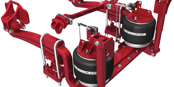 Hendrickson launches Roadmaax heavy-duty air suspension for fire and rescue  applications