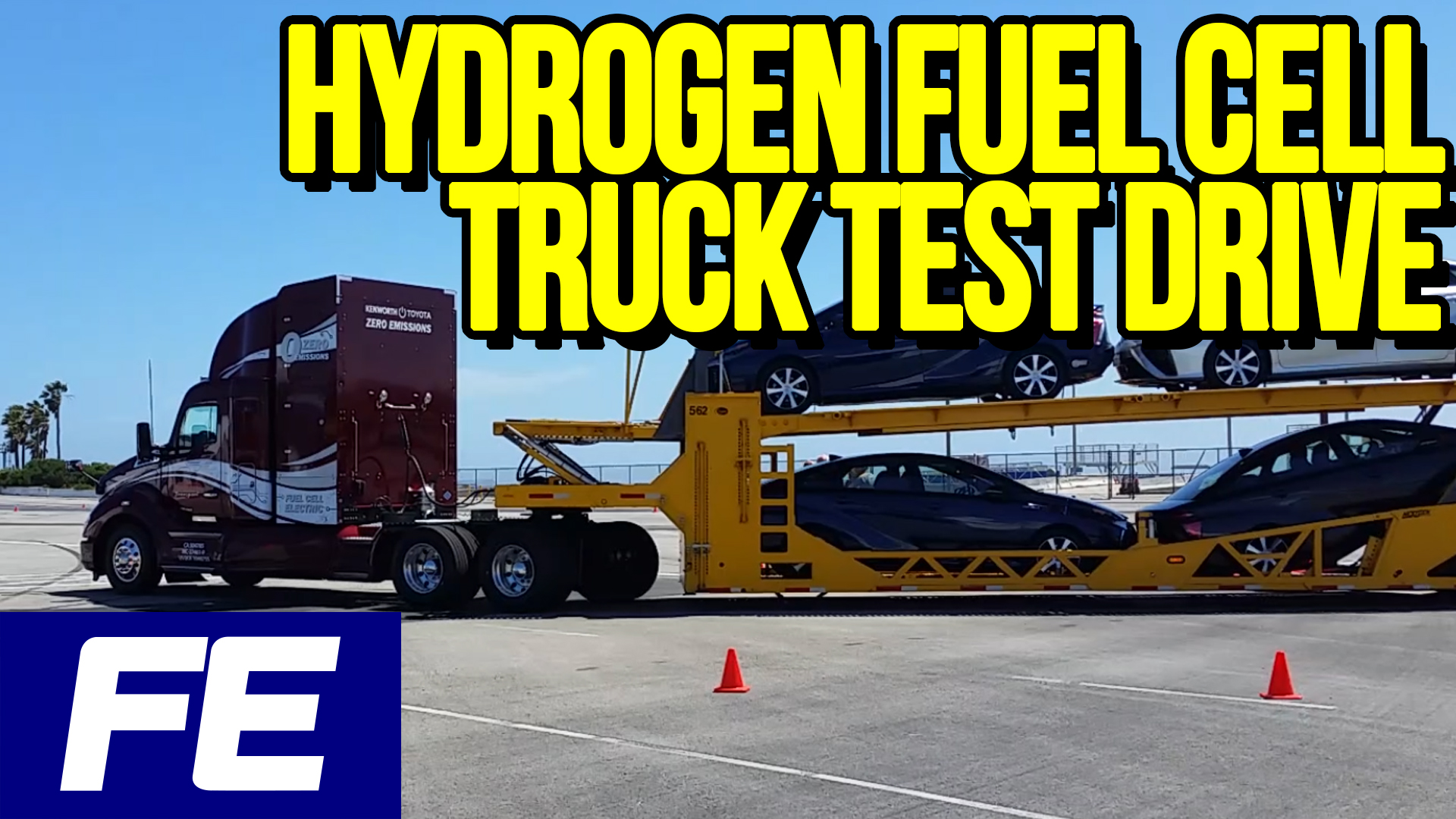 FE kenworth test drive WIX 5-3-19