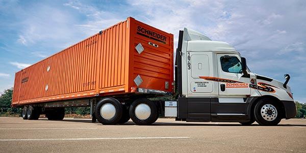 Schneider-Intermodal-Truck