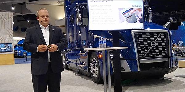 Volvo Trucks Geotab ELD Partnership ATA MCE 2019