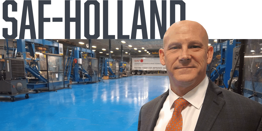 Kent Jones SAF Holland President Executive Interview