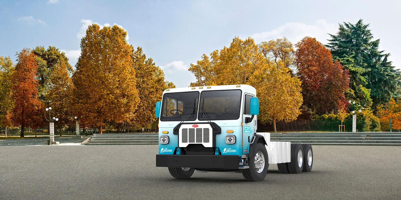 Peterbilt Motors medium-duty 520 electric truck