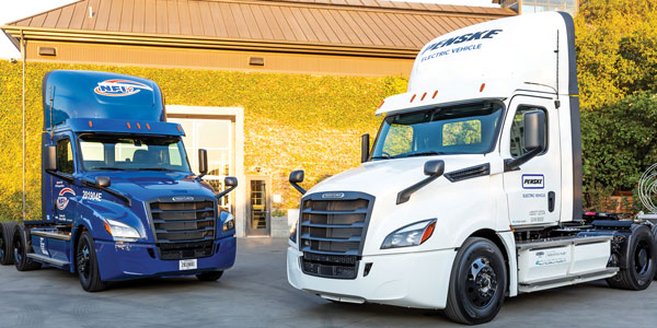 Freightliner-electric-trucks