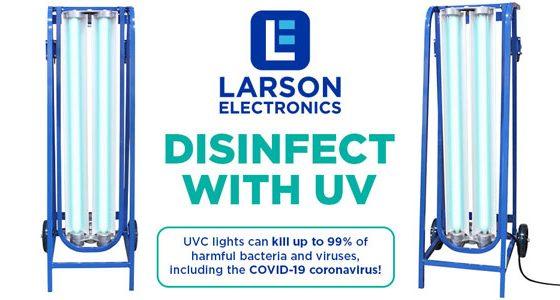Larson-Electronics-UV-Sanitation-Coronavirus
