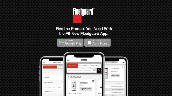 Cummins-Filtration-Fleetguard-App
