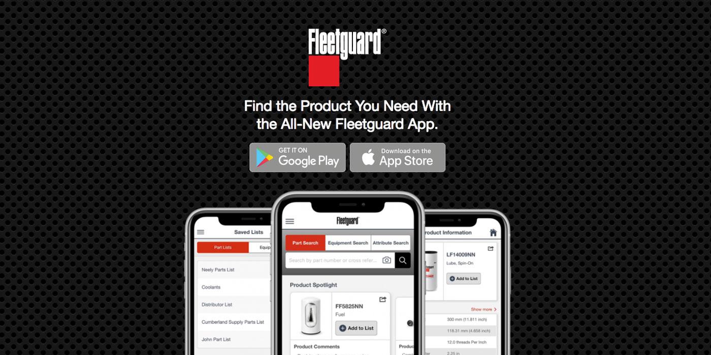 Cummins-Filtration-Fleetguard-App