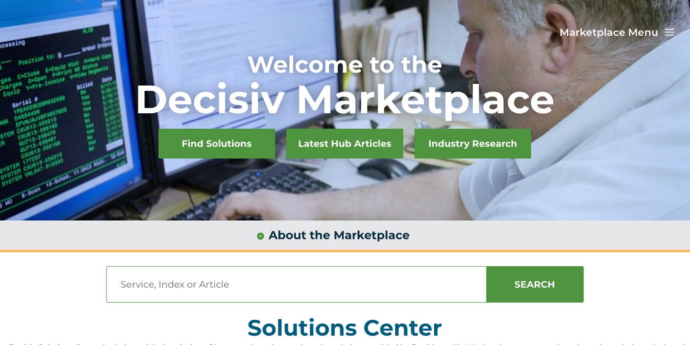 Decisiv-Marketplace