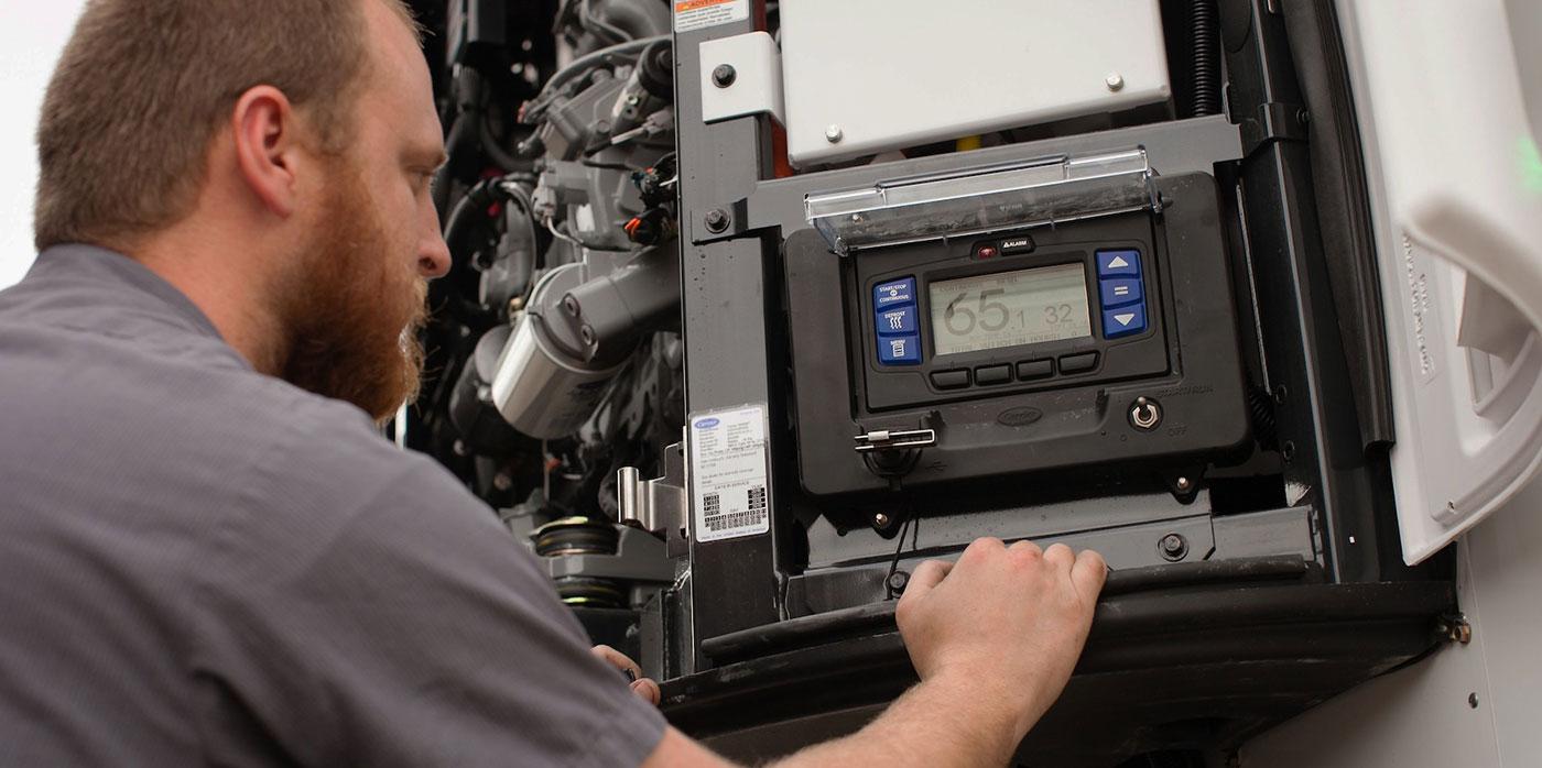 Transportation refrigeration unit maintenance tips Carrier