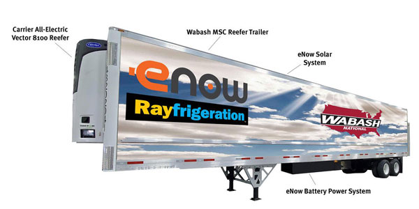 Wabash-MSC-eNow-Rayfrigeration-trailer