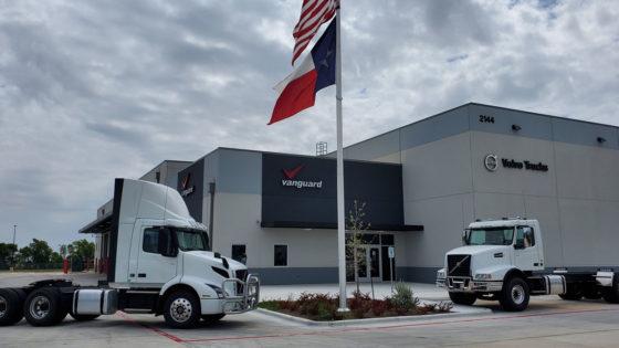 New-Volvo-Trucks-Vanguard-Dealership-Georgetown-Texas-Mack-Trucks