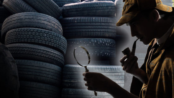 Finding Scrap Truck Tire Failure Causes