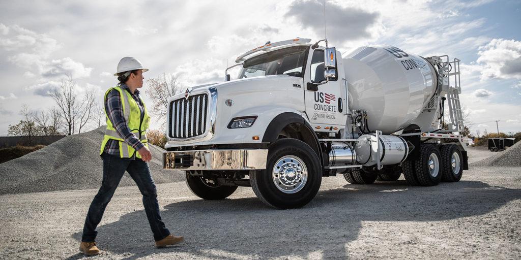 International-truck-HX-series-cement-mixer
